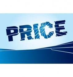 broken price vector image