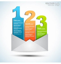 Email notification vector image vector image