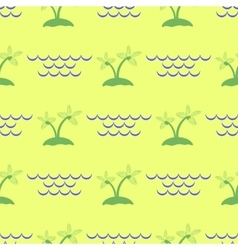 Palm seamless pattern vector