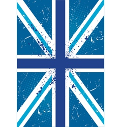 British retro flag vector image vector image