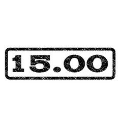 1500 watermark stamp vector image