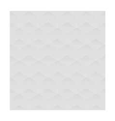 3d seamless cube background gray vector image