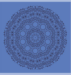 Blue ornamental pattern vector
