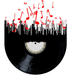 City music vector