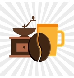 Coffee shop design vector