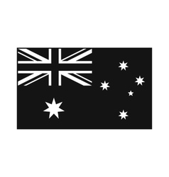 Flag of Australia icon simple style vector image
