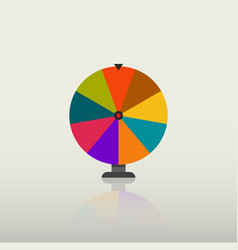 fortune wheel vector image