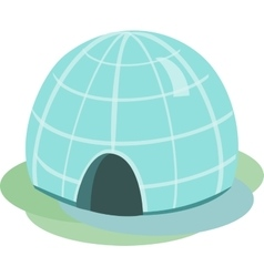 Igloo Isolated vector image