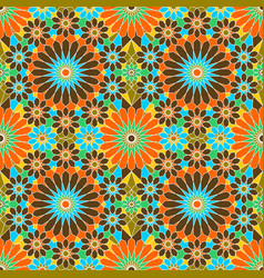 Pattern geometric islamic background template art vector