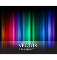 rainbow stripes vector image