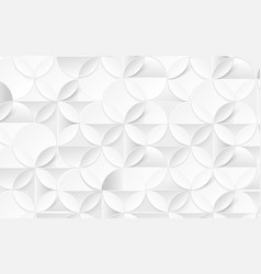 white abstract pattern modern geometric background vector image