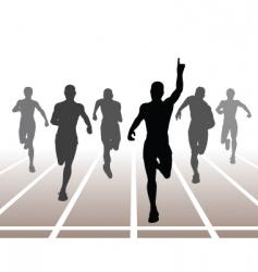 sprint vector image vector image