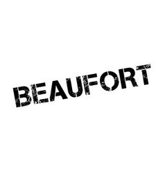 Beaufort rubber stamp vector