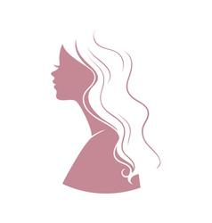 silhouette logo vector image