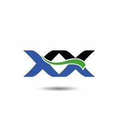 XX logo vector image
