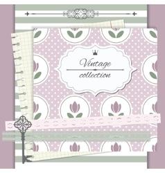 Design elements set Notebook cover design vector