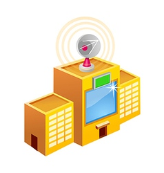 Icon broadcasting vector