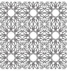 minimalistic natural seamless pattern vector image