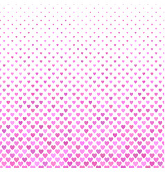 Pink heart pattern background - valentines day vector