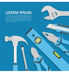 Tools background vector