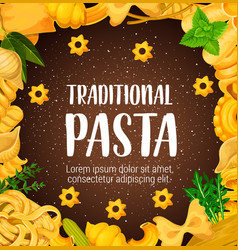 Traditional pasta greenery or seasoning vector