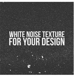 White noise texture for your design vector