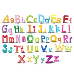 Alphabets vector
