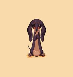 Stock emoji of cartoon vector