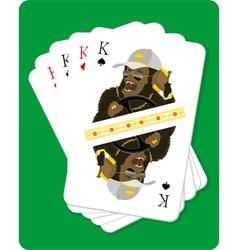 King says vector