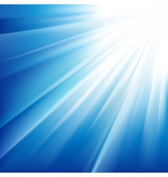 sun sparkled vector image vector image
