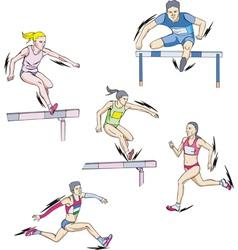 Athletics - run vector