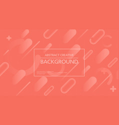 creative simple background abstraction vector image