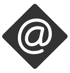 Email flat icon vector