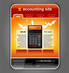 Finance accounting vector