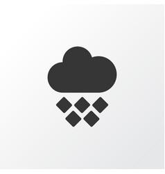 hailstone icon symbol premium quality isolated vector image