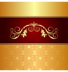 Luxury background for design card vector