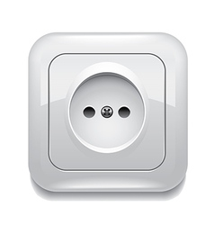 object socket vector image