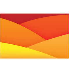 Orange warm desert background with a grainy vector