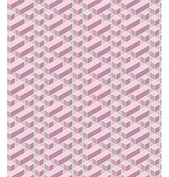 Pink geometrical vector