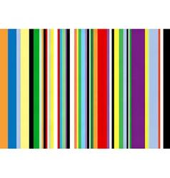multi coloured vertical stripes vector image