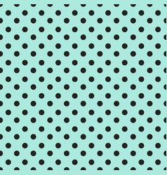 simple seamless polka dot background vector image vector image