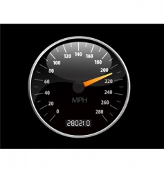 speedometer illustration vector image
