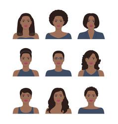African american women vector