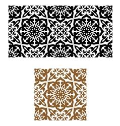 Arabic seamless ornament in retro style vector image vector image