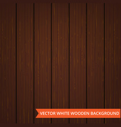 brown wood planks as texture and background vector image vector image