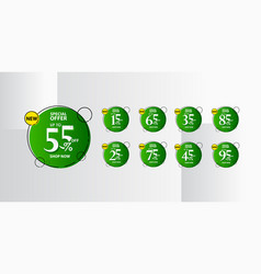 Discount up to 55 special offer shop now vector