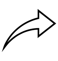 Redo Contour Icon vector