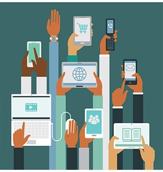 Smart devices vector