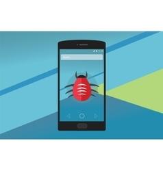Smartphone virus vector