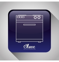 Technology home appliances vector image